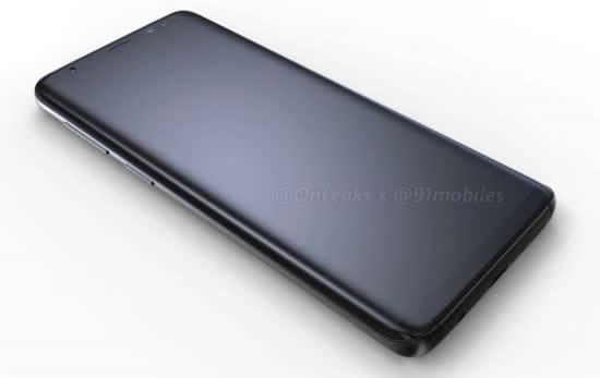 Свежие рендеры смартфона Samsung Galaxy S9