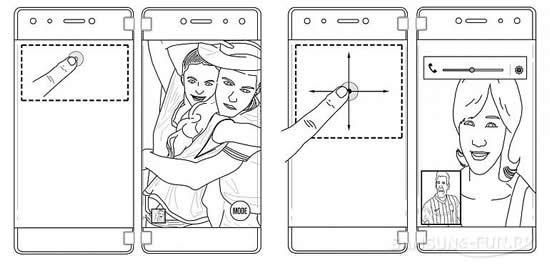 Samsung патентует очередной  смартфон с двумя дисплеями