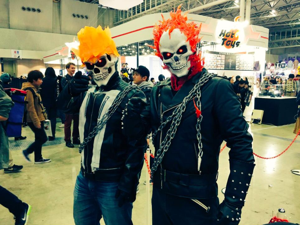 Фотофакт: лучший косплей с токийского Comic Con
