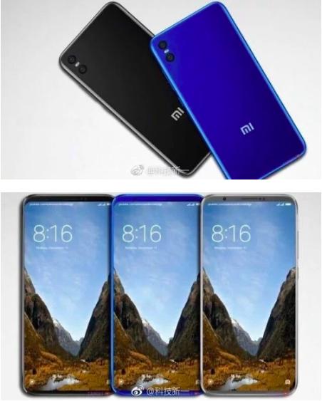 Концепт Xiaomi Mi7 появился в сети