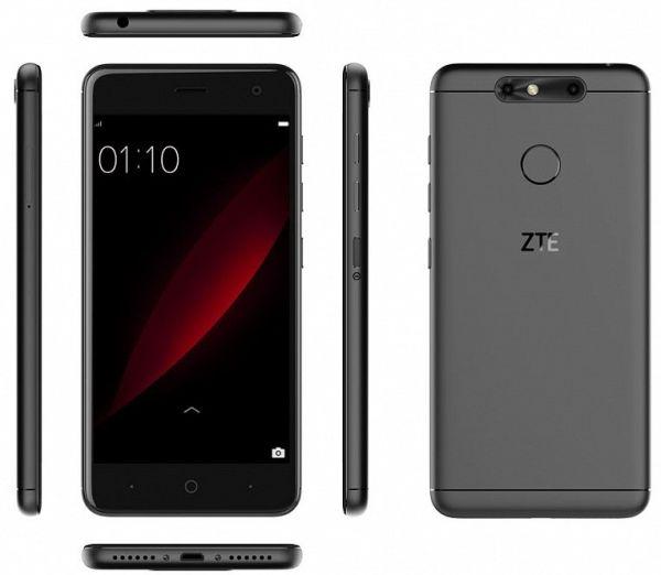 Двухкамерный смартфон ZTE Blade V8C обзавелся стоимостью в рублях