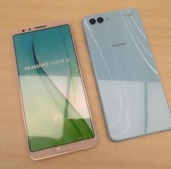 Смартфон Huawei Nova 2s показался на качественных снимках