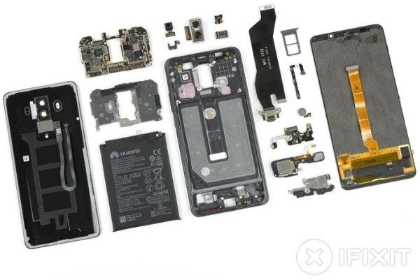 Флагман Huawei Mate 10 Pro разобран до винтика