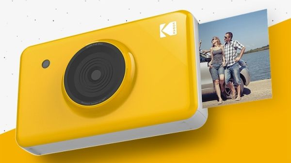 Kodak Mini Shot: фотоаппарат и принтер в одном корпусе
