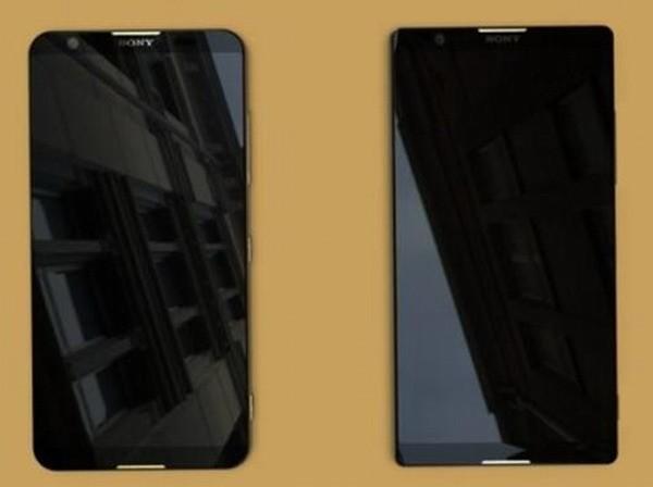Папарацци сорвали маску с первых безрамочных смартфонов Sony Xperia