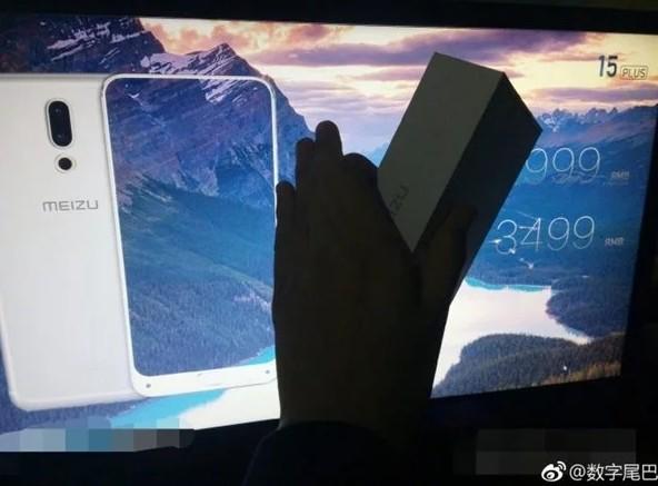 Смартфон Meizu 15 Plus показался на «живом» снимке