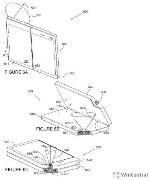 Смартфон Microsoft Surface Phone может получить раскладную камеру
