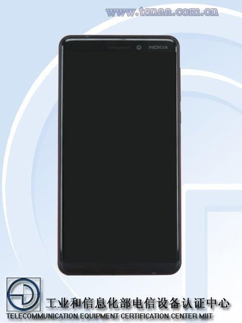 TENAA раскрыл внешность смартфона Nokia 6 (2018)