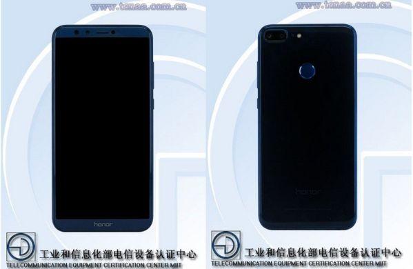 Смартфон Huawei Honor 9 Lite показали «лицом»