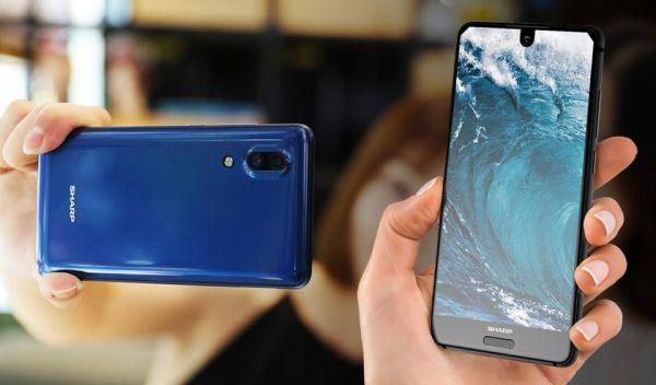 Sharp выпустить полностью безрамочный смартфон
