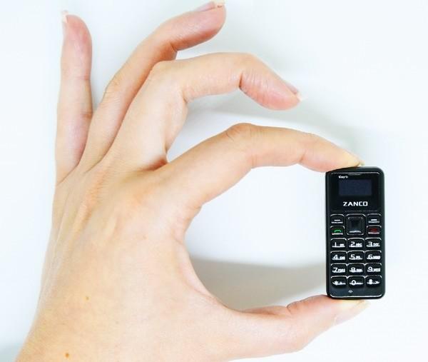 Zanco Tiny T1 – самый  компактный телефон в мире
