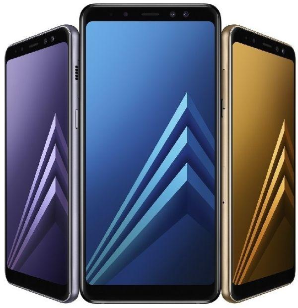 Смартфоны Samsung A8 и A8+ анонсированы официально