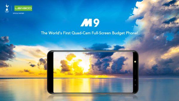 В AliExpress действуют скидки на смартфон LEAGOO M9 с четырьмя камерами
