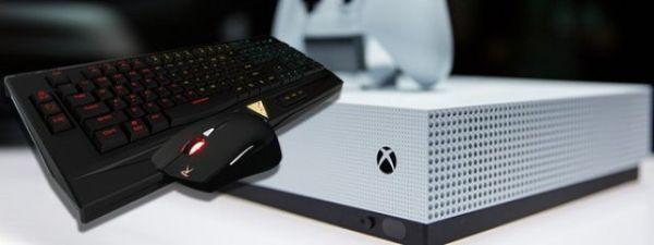 Приставку Xbox One научат работать с мышкой и клавиатурой