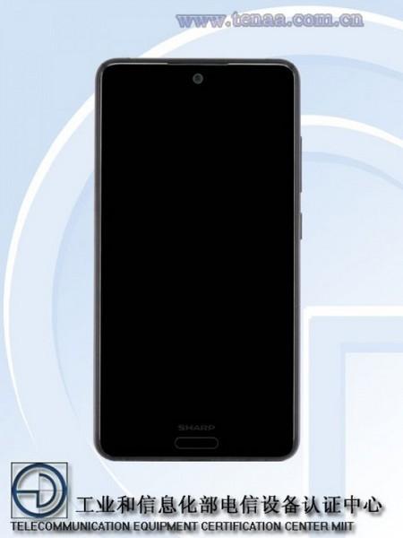 Sharp FS8018 – смартфон среднего уровня без двойной камеры