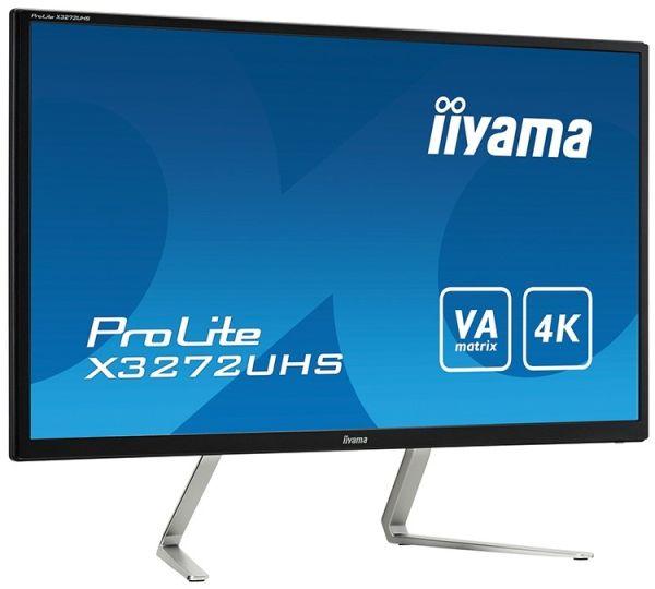 Монитор Iiyama ProLite X3272UHS-B1 дополнили оригинальной подставкой