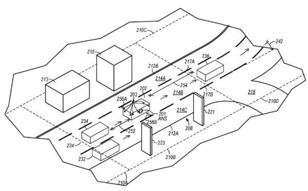 Apple хочет запатентовать систему навигации для робомобилей
