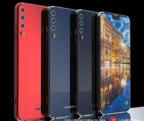 Трехкамерный смартфон Huawei P11 X показали на концептуальных рендерах