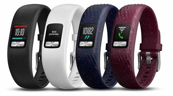 В браслет Garmin Vivofit 4 встроили цветной экран
