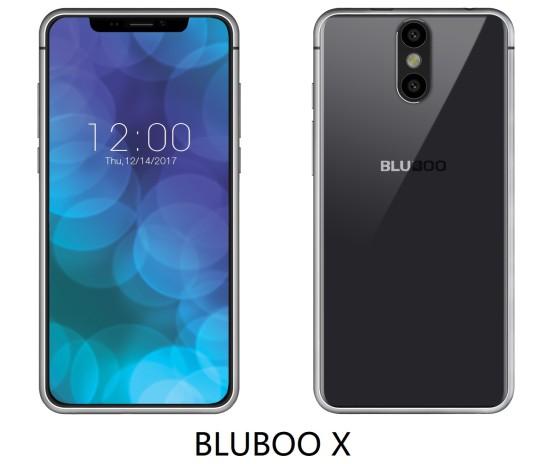 Смартфон Bluboo X скопирован с нового флагмана от Apple