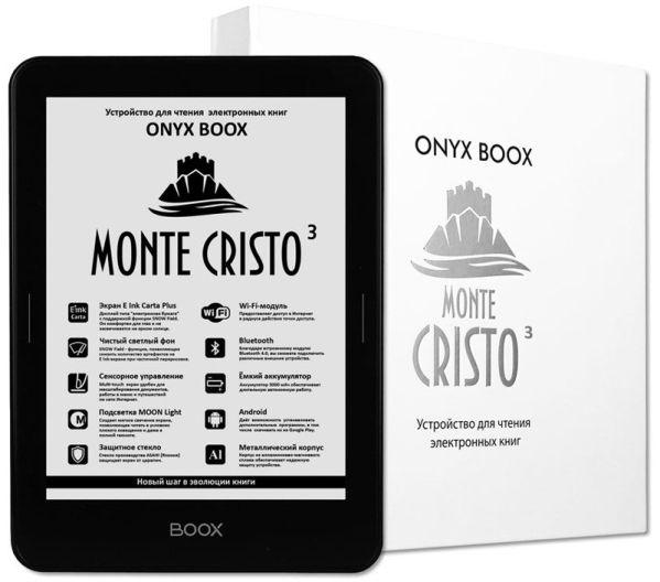 Onyx Boox Monte Cristo 3: электронная книга нового поколения
