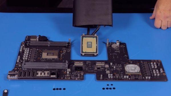 Модульность компьютера Apple iMac Pro подтверждена
