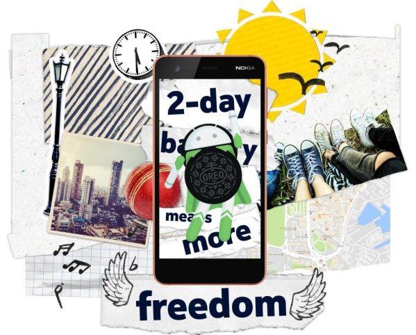 Смартфон Nokia 2 обновят сразу до Android 8.1