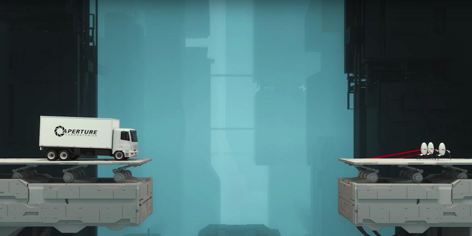 Помните Portal? Valve превратит ее в мобильный конструктор мостов