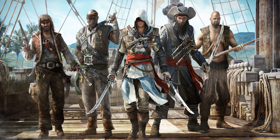 Ubisoft бесплатно отдаст Assassin's Creed IV: Black Flag и World in Conflict