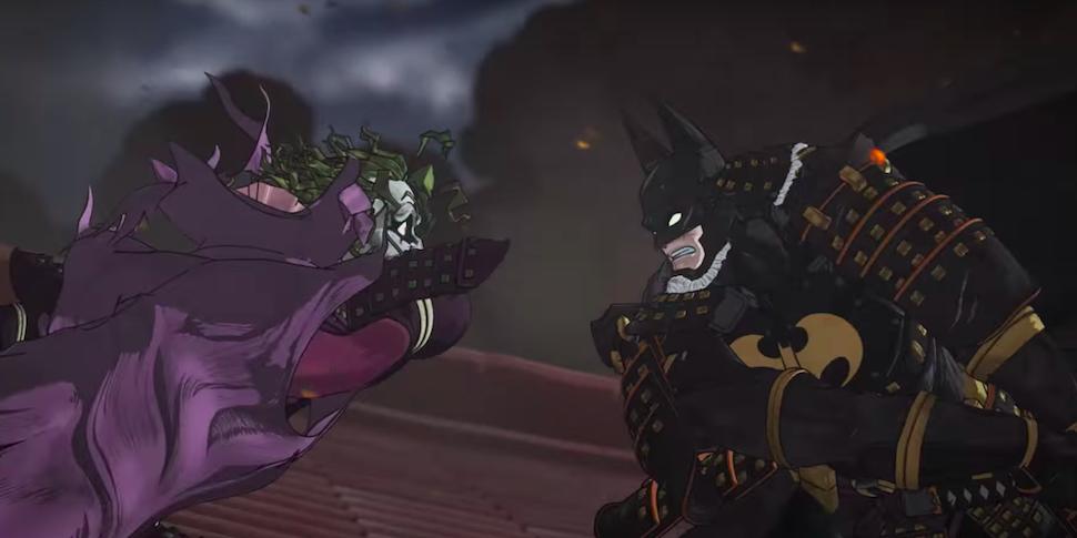 Бэтмен наденет самурайские доспехи и станет героем японского аниме