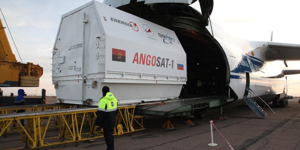 Спутник Angosat вышел на связь спустя двое суток после запуска