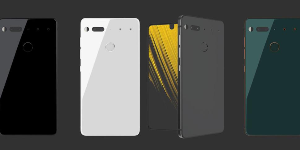 С конца лета продано только 50 тысяч Essential Phone