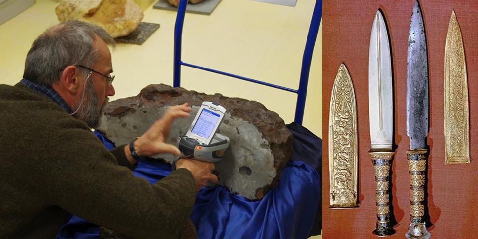 Исследование: древние железные кинжалы и браслеты «прилетели» на Землю из космоса