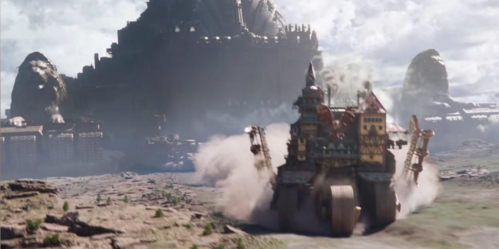 Вышел трейлер фильма «Хроники хищных городов» в стиле «Безумного Макса»