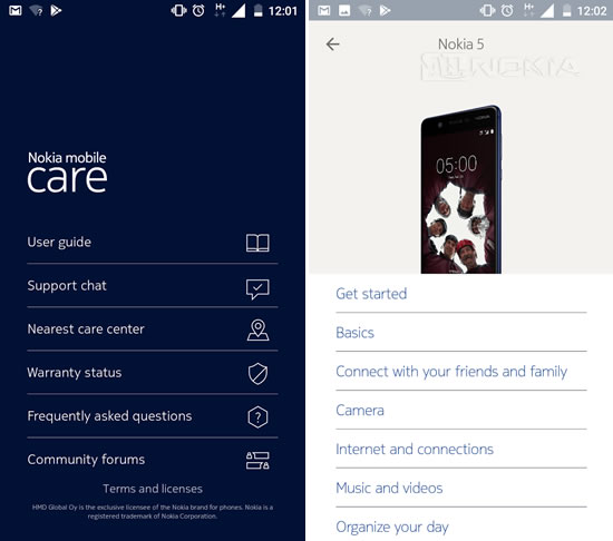 Приложение Nokia Mobile Support снова обновилось