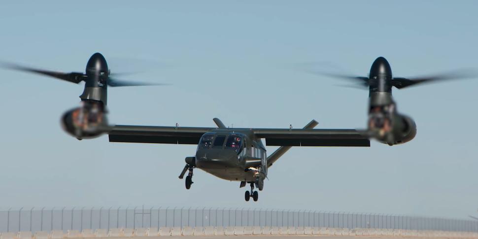 Американцы показали взлет перспективного конвертоплана Bell V-280 Valor