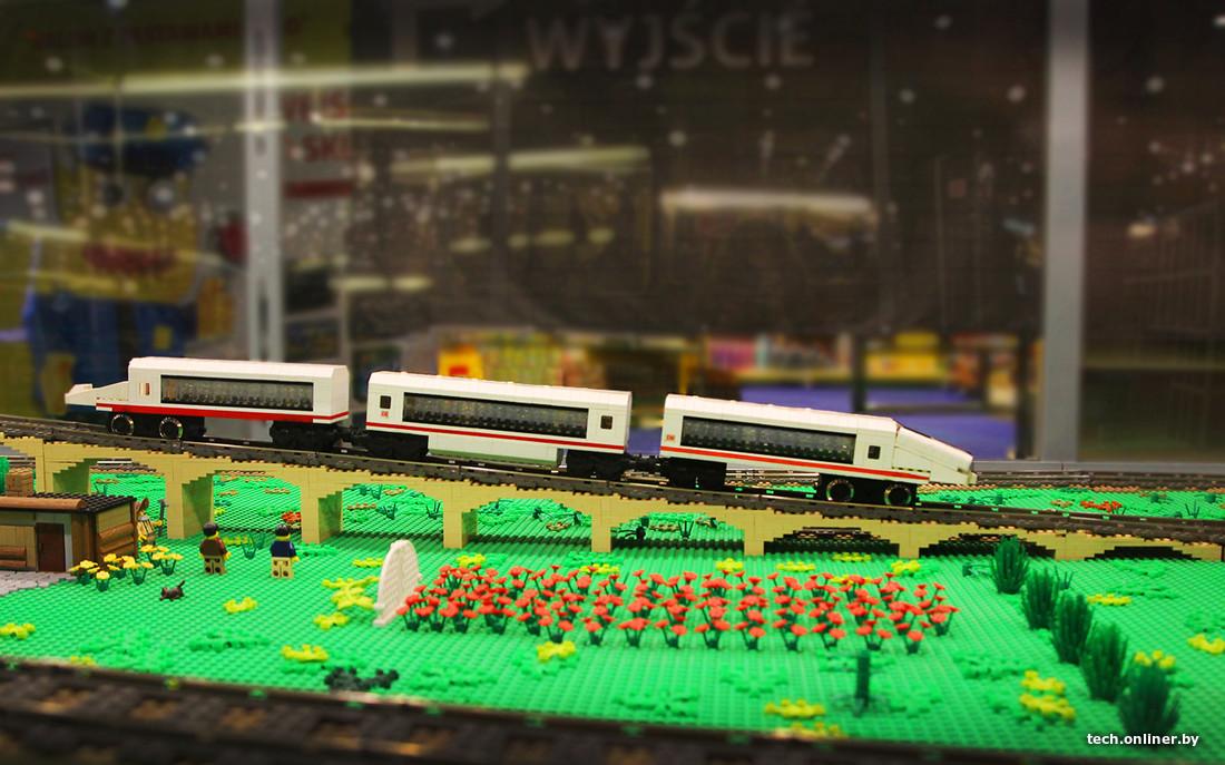 Фоторепортаж с международной выставки Lego в Белостоке