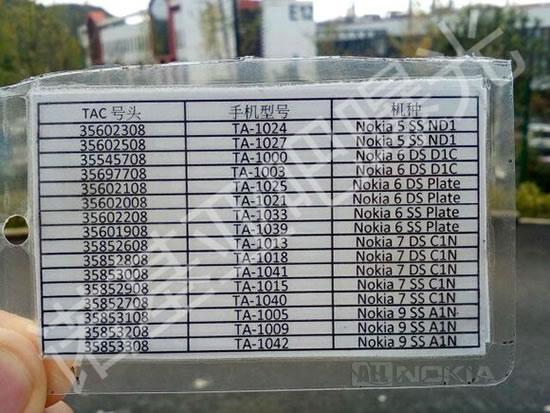 Nokia 9 будет выпущен с продакт-кодами TA-1005, TA-1009 и TA-1042