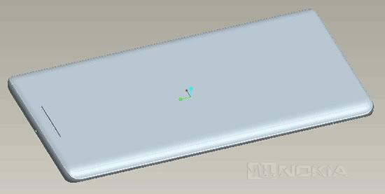В Сети появились 3D-схемы дизайна Nokia 9