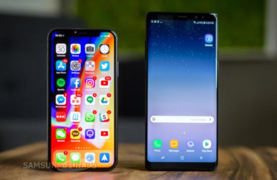 Эксперты Consumer Report оценили Samsung Galaxy S8  выше iPhone X