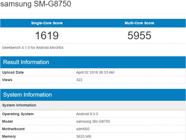 Samsung Galaxy S9 mini замечен в Geekbench