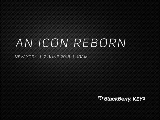 Смартфон BlackBerry KEY2 представят 7 июня