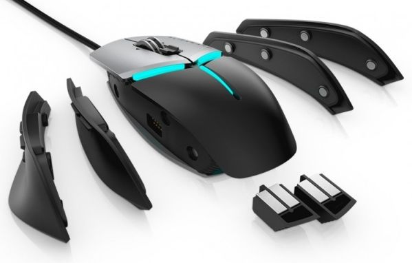 Alienware обновила мышь Elite Gaming Mouse