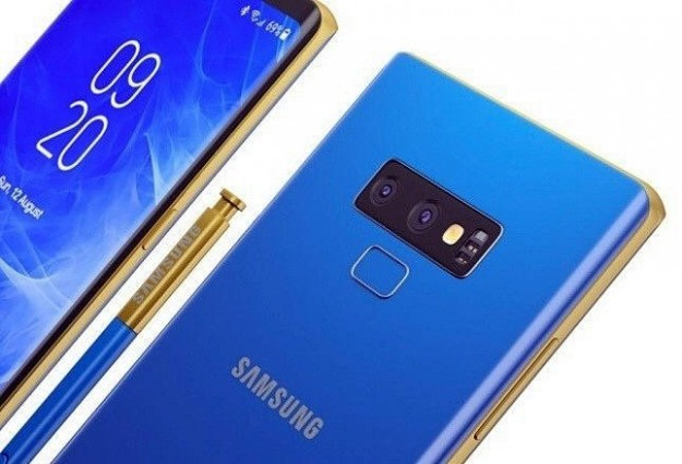 Стала известна дата начала продаж смартфона Samsung Galaxy Note 9