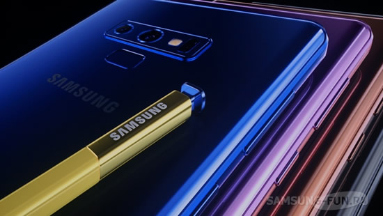 C Samsung Galaxy Note 9 случился неприятный инцидент