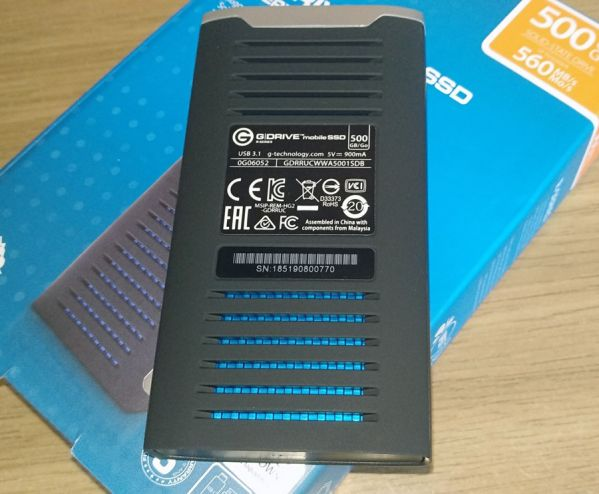 G-Technology G-Drive Mobile SSD